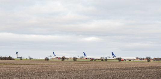Nedgangen i flyvninger får konsekvenser. Foto: HAS.