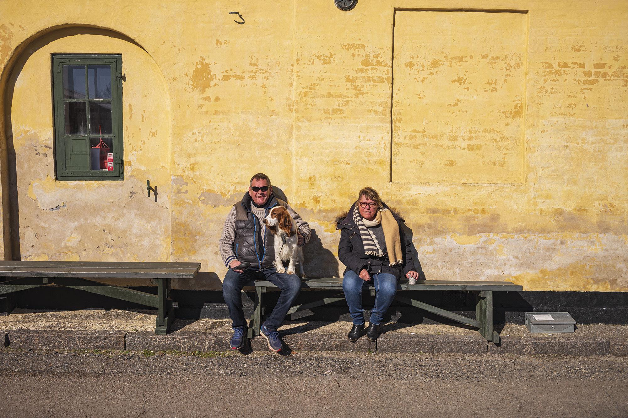 Solen nydes lørdag, inden der holdes 70-års-fødselsdag om søndagen – uden gæster. Foto: TorbenStender.