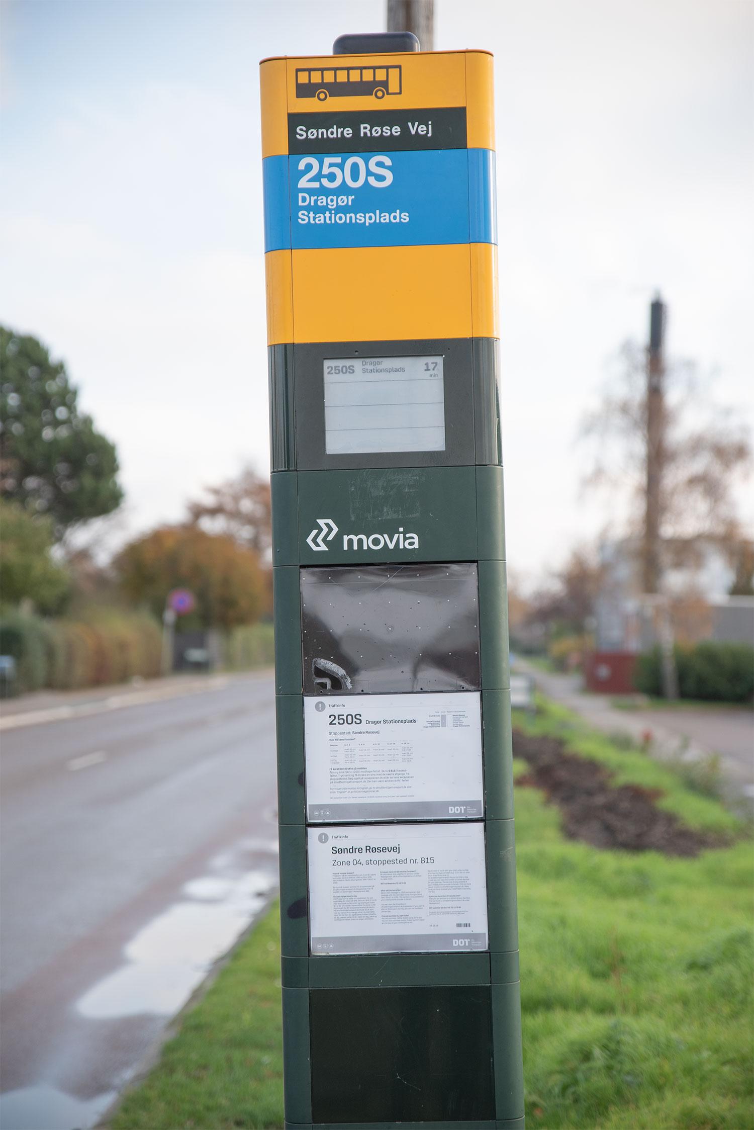 Movia lukker midlertidigt for det betjente salg i busserne. Arkivfoto: Thomas Mose.