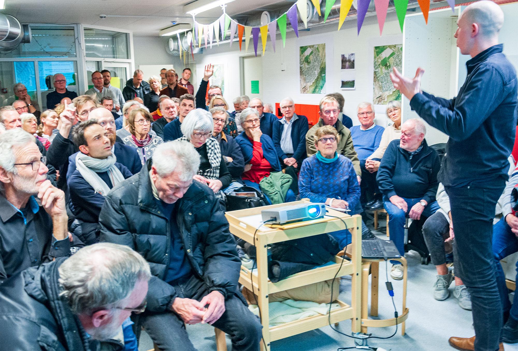 Tirsdag den 28. januar var der borgersamling i Sølyst Børnehave. Foto: Hans Jacob Sørensen.