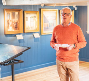 Formand for Museum Amager Carsten Dinesen Maass. Foto: Thomas Mose.
