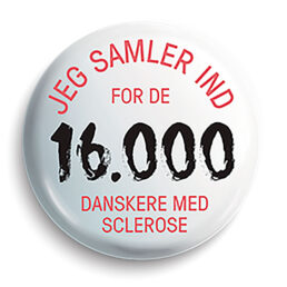 Søndag den 13. september samler Scleroseforeningen penge ind til forskning i sygdommen.