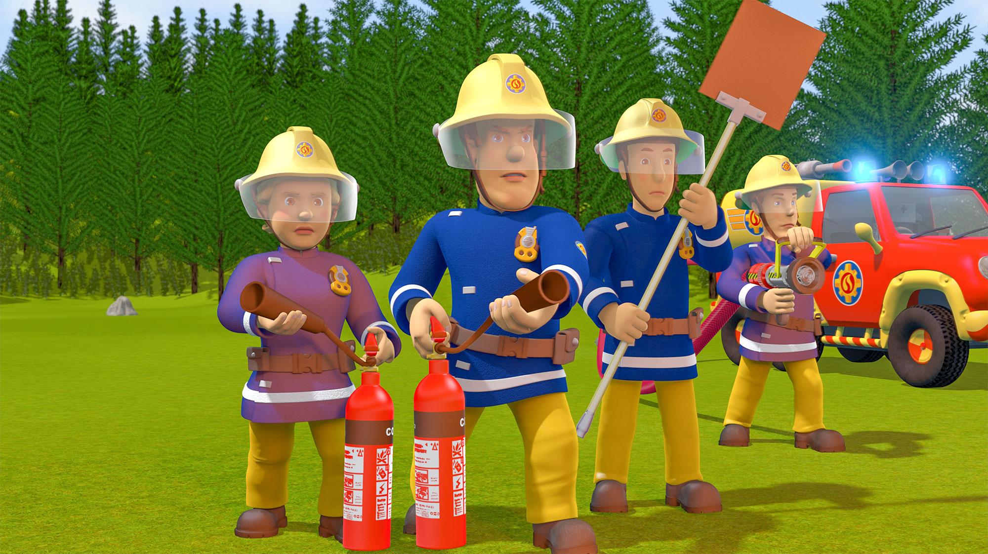 »Brandmand Sam – Klar til action!«.