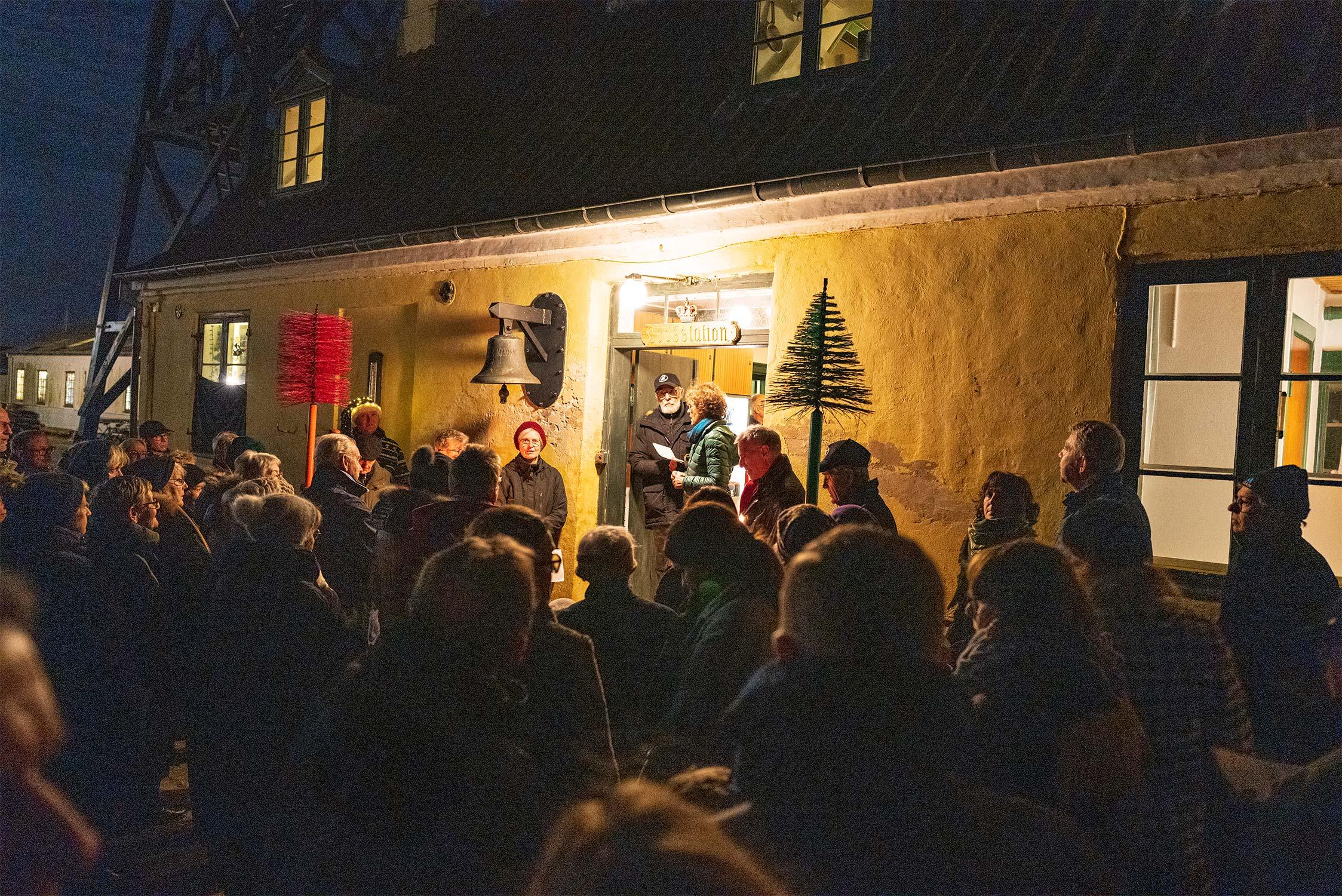Levende Låger gjorde sidste år stop hos Danmarks Lodsmuseum på havnen. Foto: TorbenStender.