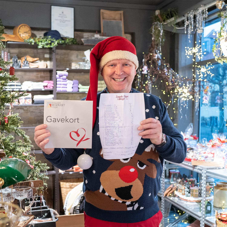 1.-præmien er et gavekort til Restaurant Beghusets jubilæumsmenu. Foto: TorbenStender.